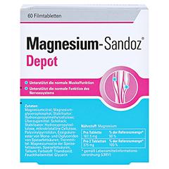 MAGNESIUM-SANDOZ Depot Filmtabletten 60 Stück - Rückseite