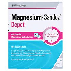 MAGNESIUM-SANDOZ Depot Filmtabletten 24 Stück - Vorderseite