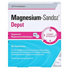 MAGNESIUM-SANDOZ Depot Filmtabletten 60 Stück - Vorderseite