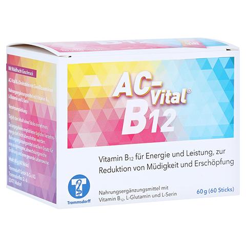 AC-Vital B12 Direktsticks m.Eiweißbausteinen 60 Stück
