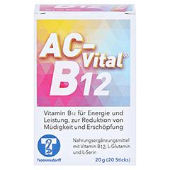 AC-Vital B12 Direktsticks m.Eiweißbausteinen 20 Stück - Vorderseite