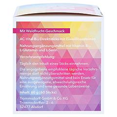 AC-Vital B12 Direktsticks m.Eiweißbausteinen 60 Stück - Linke Seite