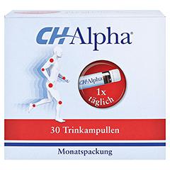 CH Alpha Trinkampullen 30 Stück - Vorderseite