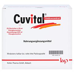 CUVITAL Trinkkonzentrat 25x25 Milliliter - Vorderseite