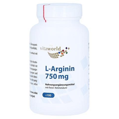 ARGININ 750 mg Kapseln 100 Stück