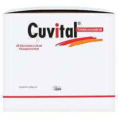 CUVITAL Trinkkonzentrat 25x25 Milliliter - Linke Seite