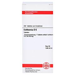 EICHHORNIA D 6 Tabletten 200 Stück N2 - Vorderseite