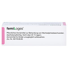femiLoges 50 Stück - Oberseite