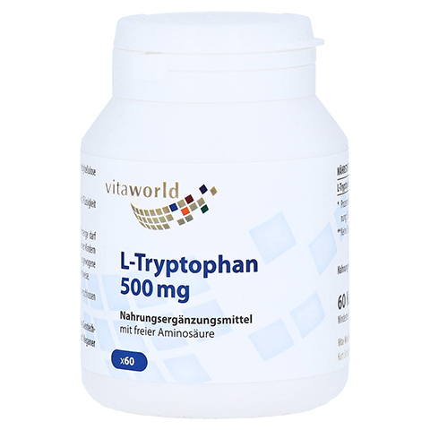 L-TRYPTOPHAN 500 mg Kapseln 60 Stück