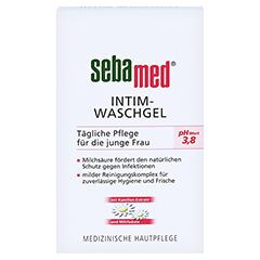 Sebamed Intim Waschgel pH 3,8 für die junge Frau + gratis SEBAMED Intim Waschgel pH 3,8 für die junge Frau 200 Milliliter - Vorderseite