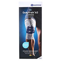 GENUTRAIN A3 Knieband.links Gr.1 titan 1 Stück - Vorderseite