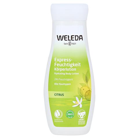 WELEDA Citrus Express-Feuchtigkeit Körperlotion 200 Milliliter