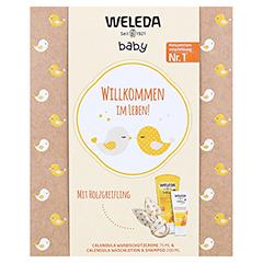 WELEDA Geschenkset Babypflege 2021 275 Milliliter - Vorderseite