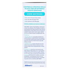 GUM Paroex Mundspülung 0,06% 500 Milliliter - Linke Seite