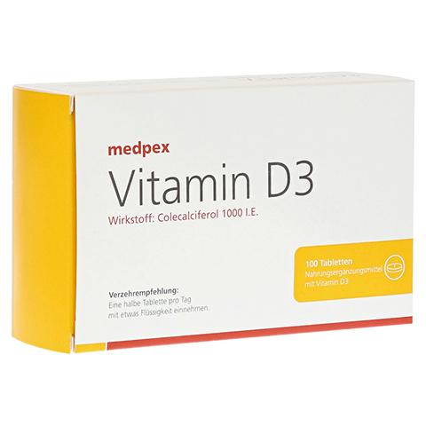 medpex Vitamin D3 100 Stück