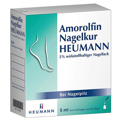 Amorolfin Nagelkur Heumann 5% wirkstoffhaltiger Nagellack 5 Milliliter N2