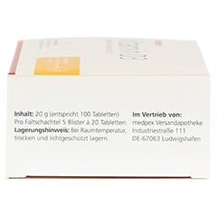 medpex Vitamin D3 100 Stück - Rechte Seite