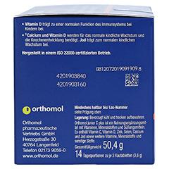 Orthomol Junior C Plus Kautabletten Waldfrucht und Mandarine/Orange 14 Stück - Linke Seite