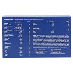 Orthomol Junior C Plus Kautabletten Waldfrucht und Mandarine/Orange 14 Stück - Rückseite
