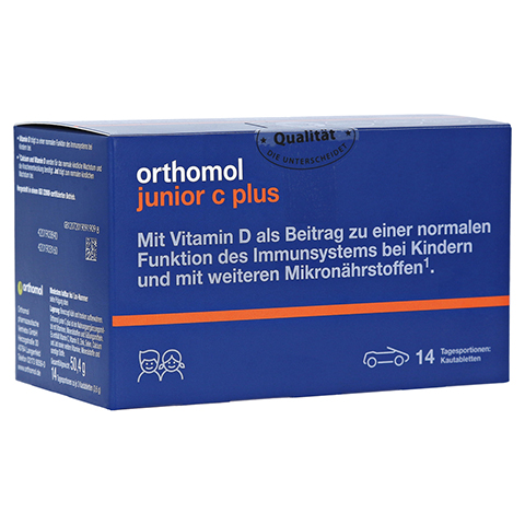 ORTHOMOL Junior C plus Kautabletten 14 Stück