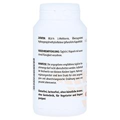 METHIONIN 500 mg Kapseln 120 Stück - Rechte Seite