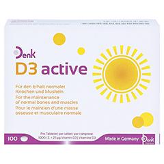 D3 ACTIVE Denk Tabletten 100 Stück - Vorderseite