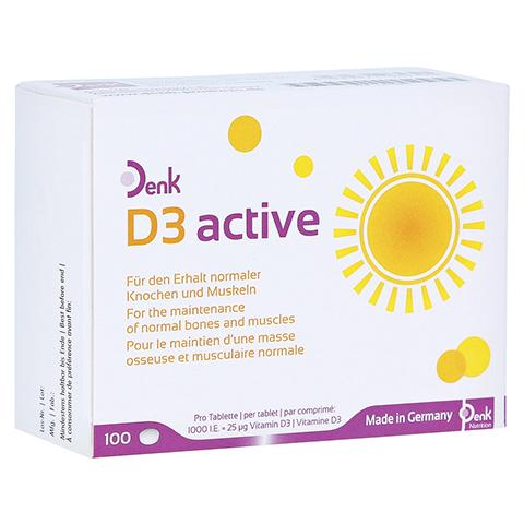 D3 ACTIVE Denk Tabletten 100 Stück
