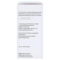 Cetirizin Aristo Allergiesaft 1mg/ml 150 Milliliter N2 - Rechte Seite