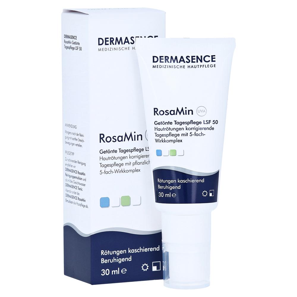 dermasence-rosamin-getonte-tagespflegecreme-lsf-50-30-milliliter