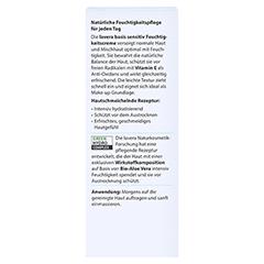 LAVERA basis sensitiv Feuchtigkeitscreme 50 Milliliter - Rückseite