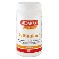 MEGAMAX Aufbaukost neutral Pulver 500 Gramm