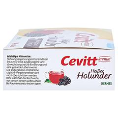 CEVITT immun heißer Holunder zuckerfrei Granulat 14 Stück - Rechte Seite