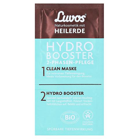LUVOS Heilerde Hydro Booster&Clean Maske 2+7,5ml 1 Packung