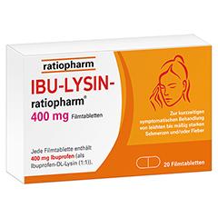 IBU-LYSIN-ratiopharm 400mg 20 Stück