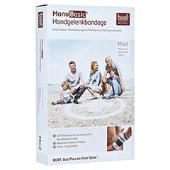 BORT ManuBasic Bandage rechts XL schwarz 1 Stück