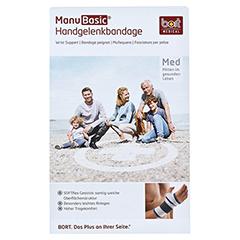 BORT ManuBasic Bandage rechts XL schwarz 1 Stück - Vorderseite