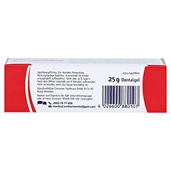 Sensodyne PROSCHMELZ Fluorid Gelee 25 Gramm - Unterseite