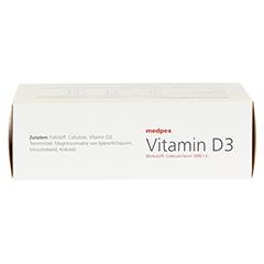 medpex Vitamin D3 100 Stück - Oberseite