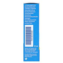 Otriven 0,05% Dosierspray ohne Konservierungsstoffe 10 Milliliter N1 - Linke Seite