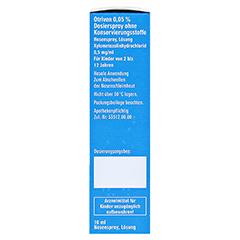 Otriven 0,05% Dosierspray ohne Konservierungsstoffe 10 Milliliter N1 - Rechte Seite