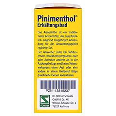 Pinimenthol Erkältungsbad ab 12 Jahre 30 Milliliter - Rechte Seite