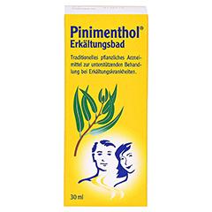 Pinimenthol Erkältungsbad ab 12 Jahre 30 Milliliter - Vorderseite