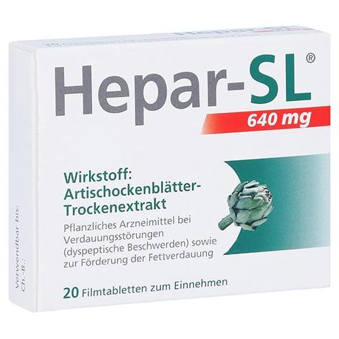 Hepar-SL 640mg 20 Stück