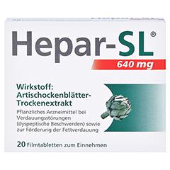 Hepar-SL 640mg 20 Stück - Vorderseite