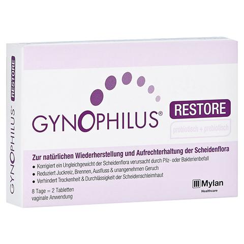 GYNOPHILUS restore Vaginaltabletten 2 Stück