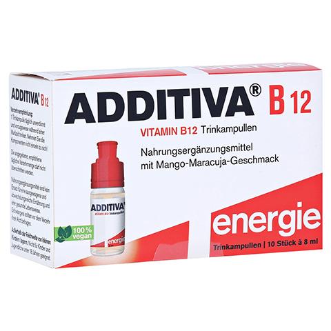 ADDITIVA Vitamin B12 Trinkampullen 10x8 Milliliter