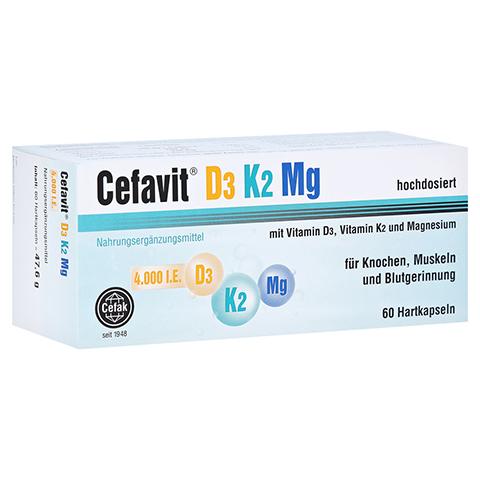 CEFAVIT D3 K2 Mg 4.000 I.E. Hartkapseln 60 Stück
