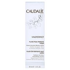 CAUDALIE Vinoperfect Tagesfluid für perfekte Haut 40 Milliliter - Vorderseite