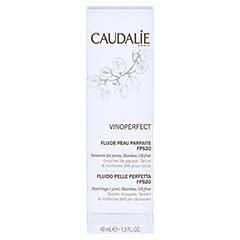 CAUDALIE Vinoperfect Tagesfluid für perfekte Haut 40 Milliliter - Rückseite