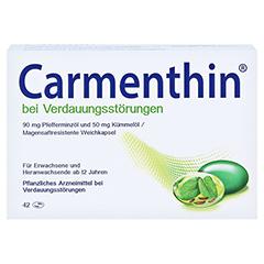 Carmenthin bei Verdauungsstörungen 42 Stück - Vorderseite